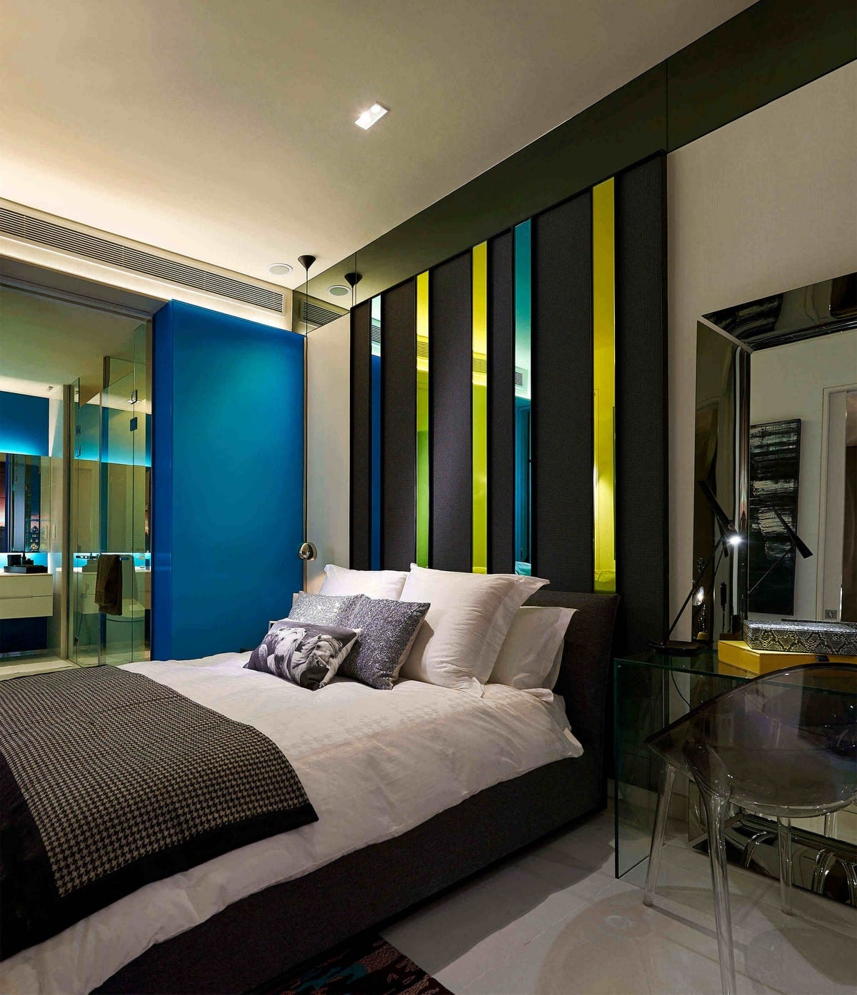 Masculinity Through Color bedroom ideas
