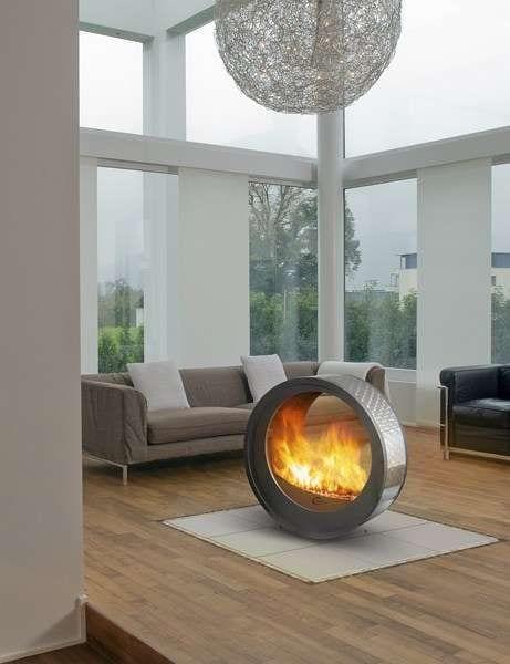 Mobile fireplace decor ideas