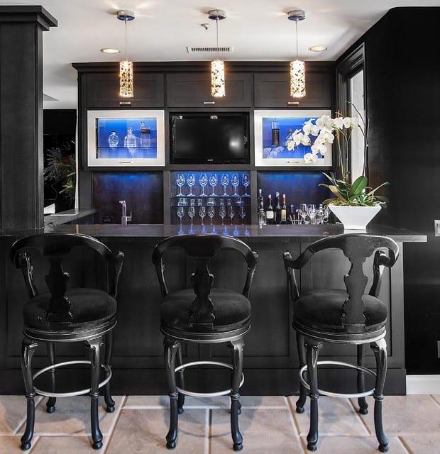 Modern home bar designs ideas
