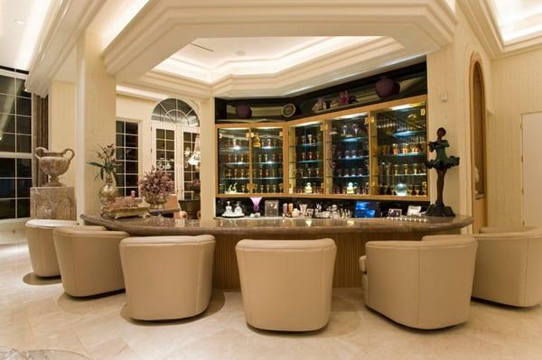 Royal modern home bar design ideas