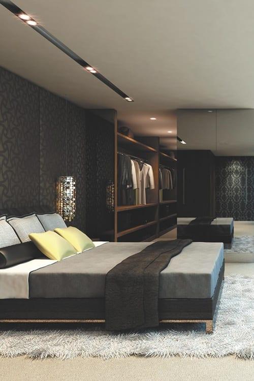 Sexy Masculine Bedroom Design Ideas