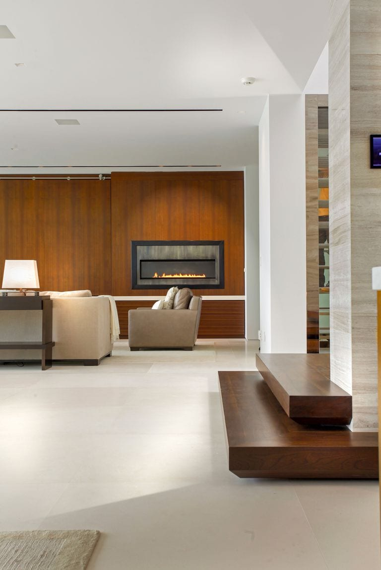 Sleek fireplace decor ideas