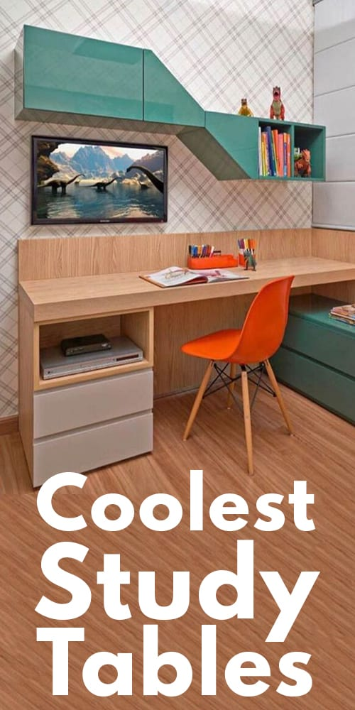 19 Of The Coolest Study Tables!
