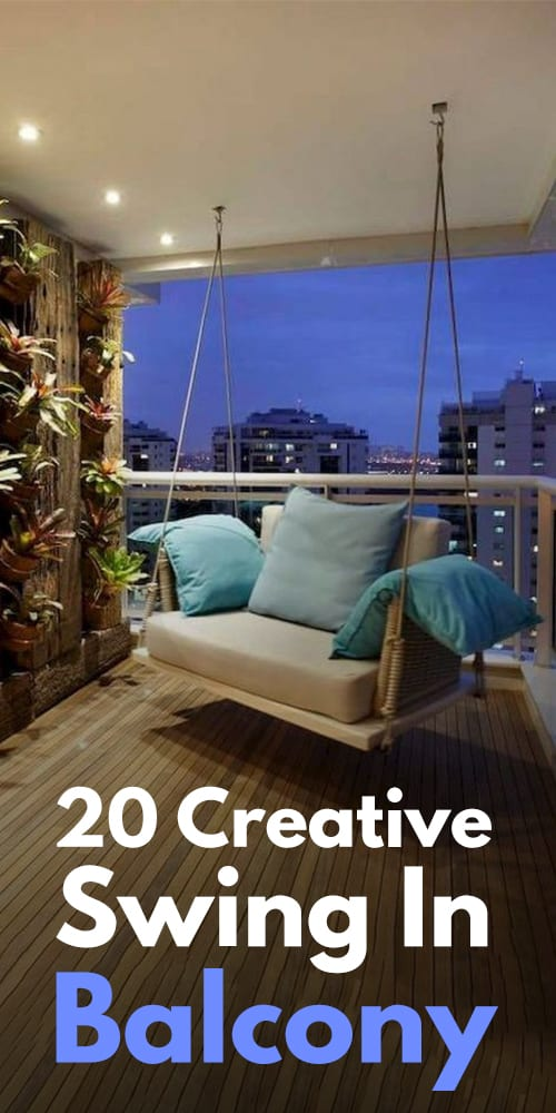 20 Creative Swing In Balcony Photos!