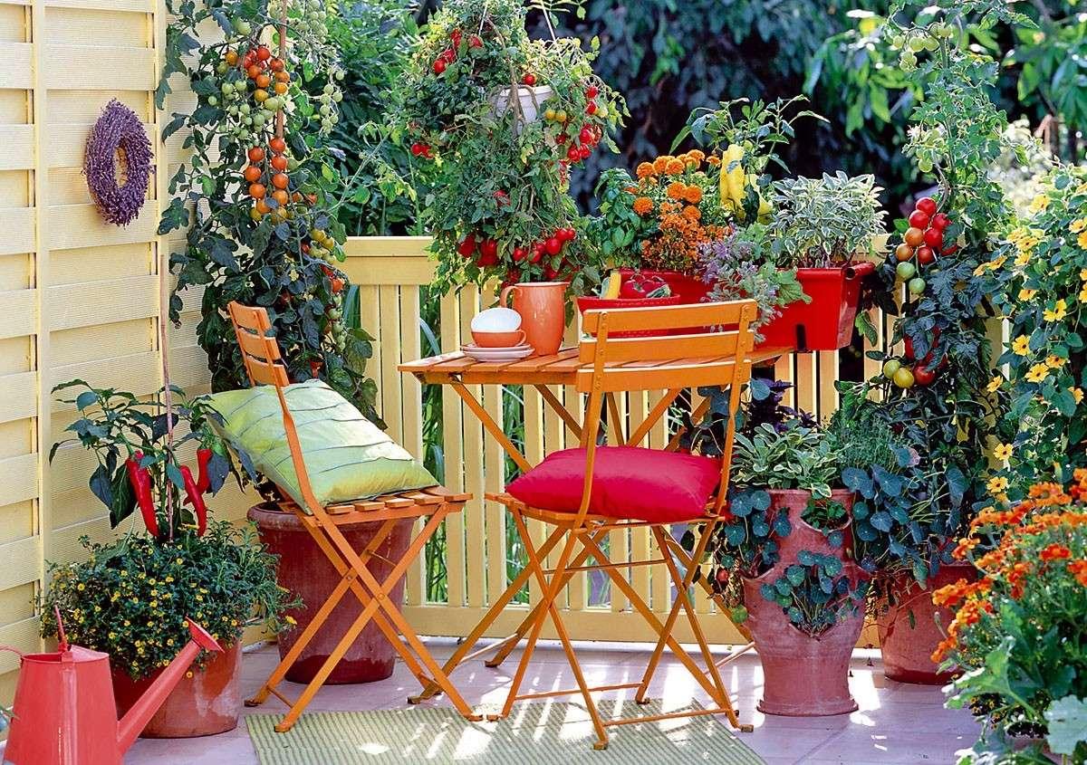 Adorable Balcony Garden Ideas
