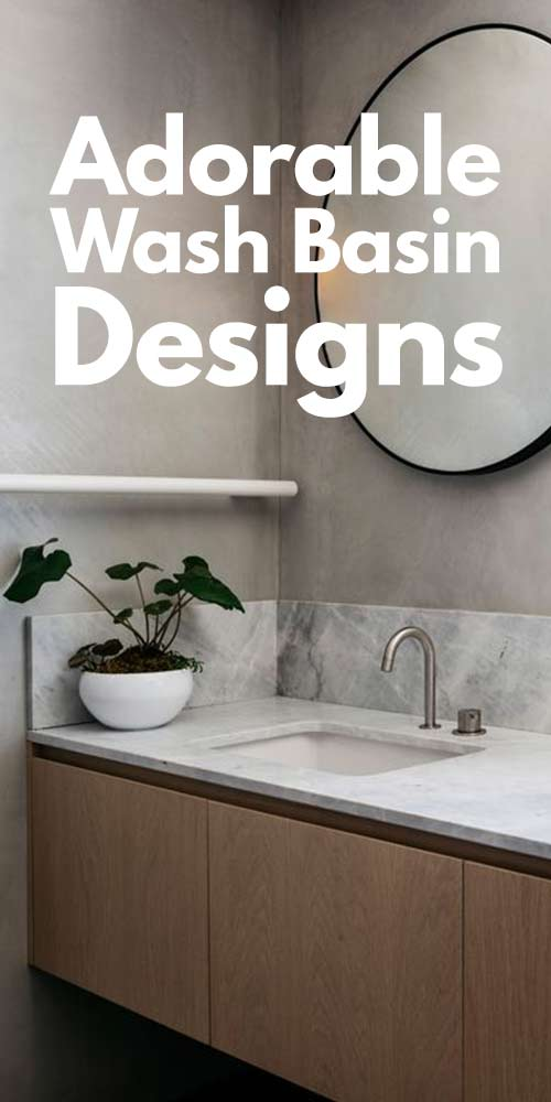 Adorable Wash Basin Designs You Need To See