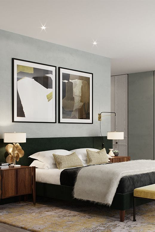 Amazing bedroom design for couples