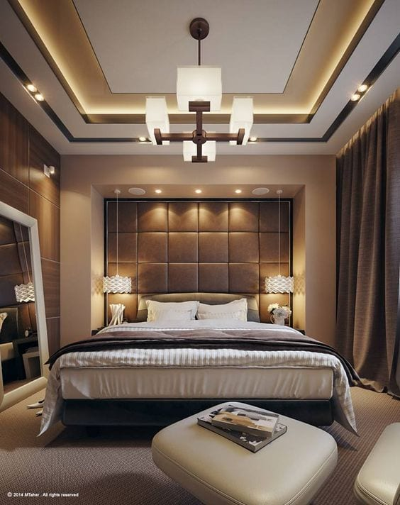 Beautiful ceiling design for bedroom