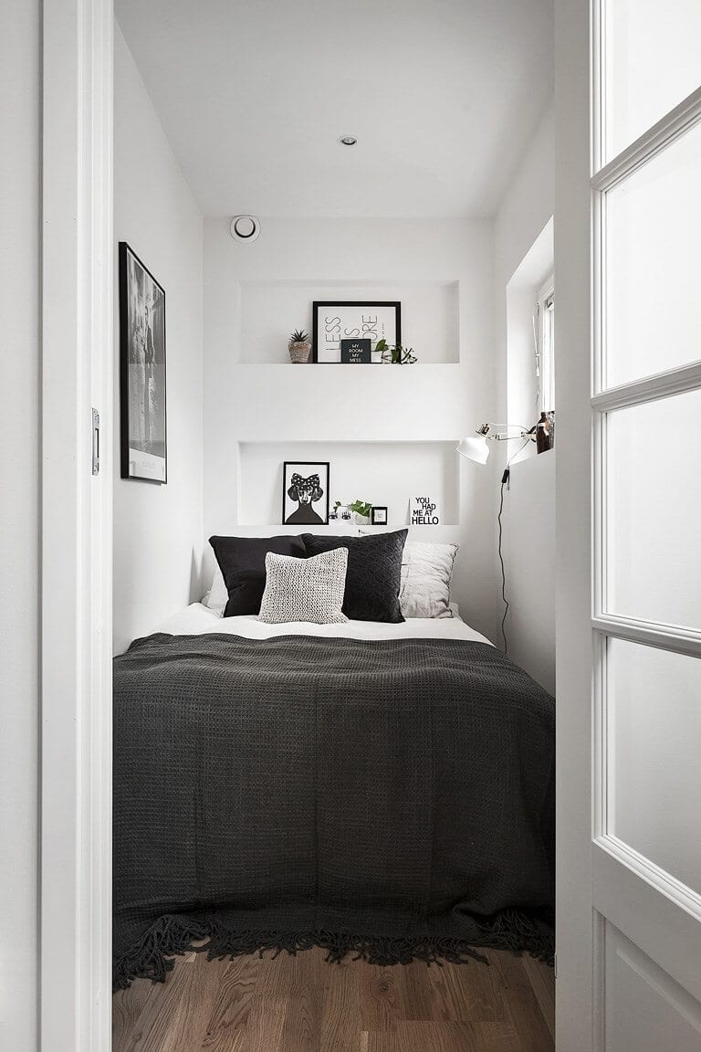 Bed Sized Small Bedroom Ideas