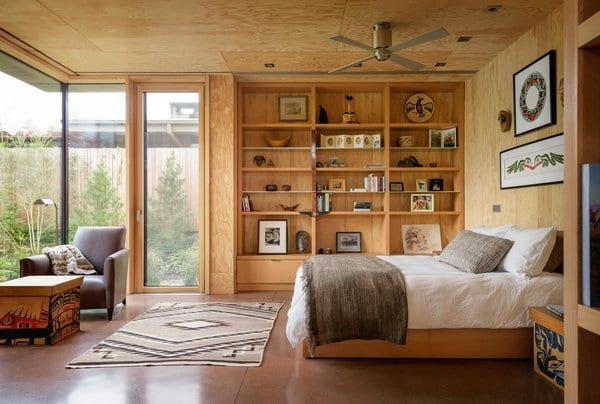 Bedroom Shelves Wooden Design Photos And Ideas