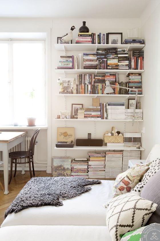 Bedroom shelves Designs