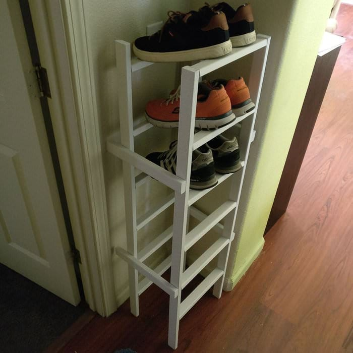 Cheap and Easy Shoe Rack ideas