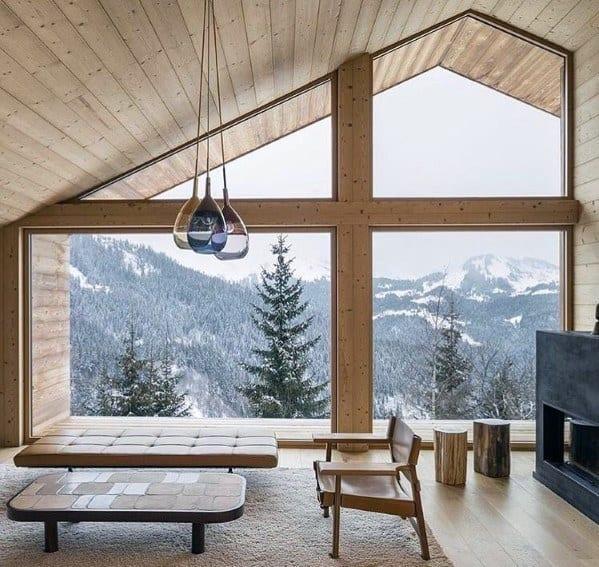 Contemporary home wood ceiling ideas