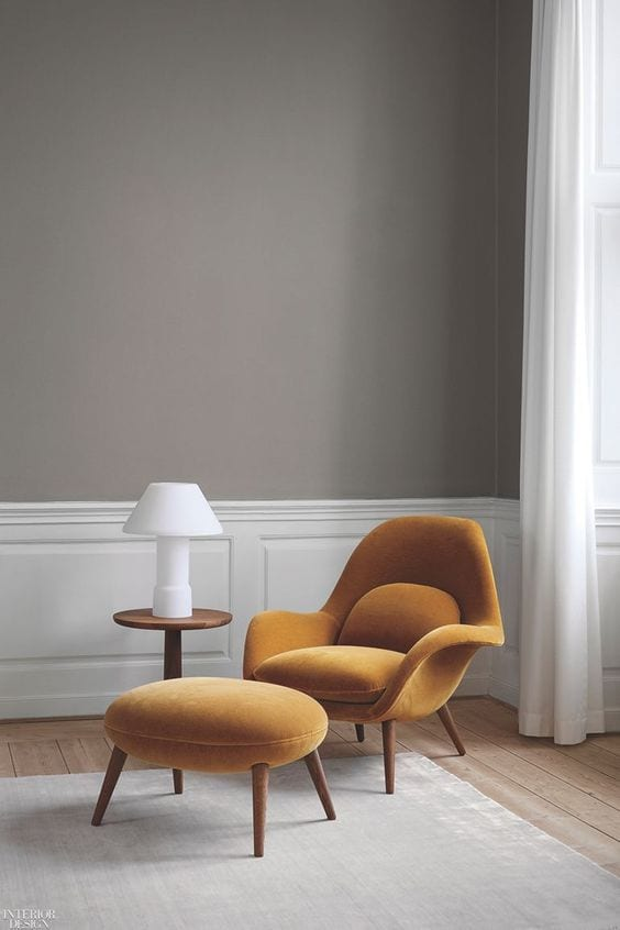 Decent accent chair in living room in 2019