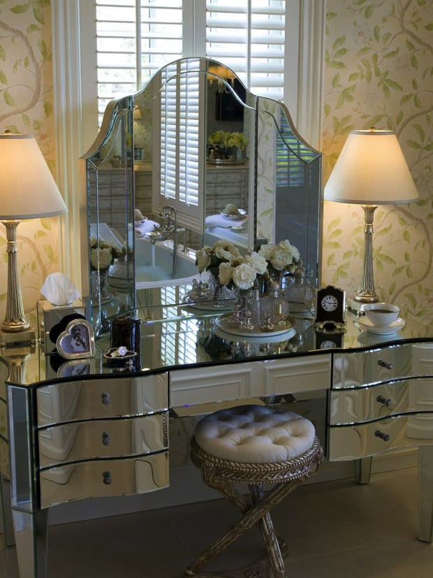 Dressing table for bedroom design ideas