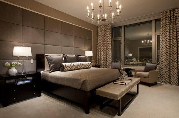 Lavish bedroom curtain designs