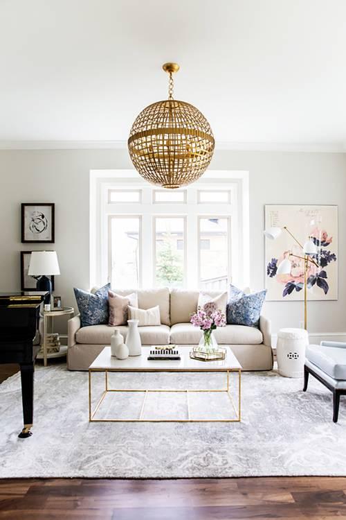 Light Gray With a White Trim living room color ideas