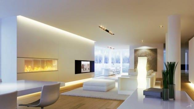 Luxurious minimal living room decor ideas