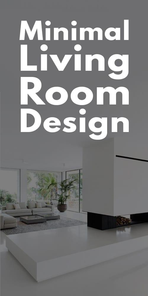 Minimal Living Room Designs.