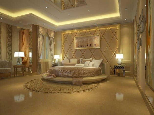 Modern Ceiling Designs For Your Master Bedroom