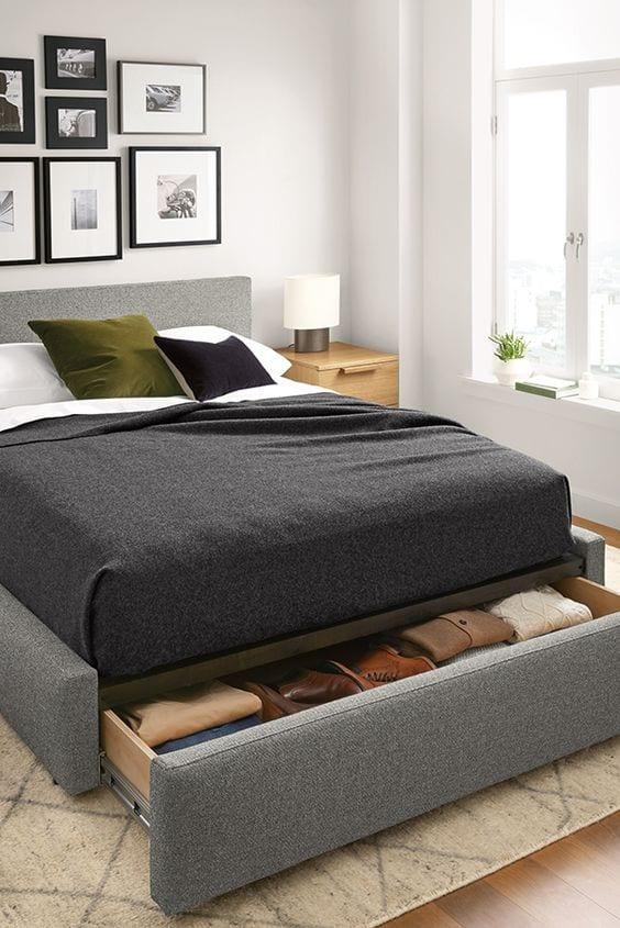 Modern storage bed Ideas