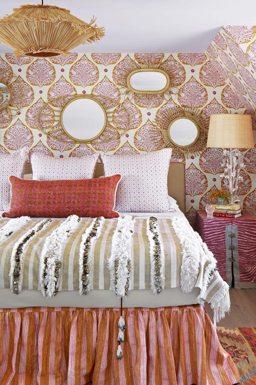 Patterned Cozy Bedroom Ideas
