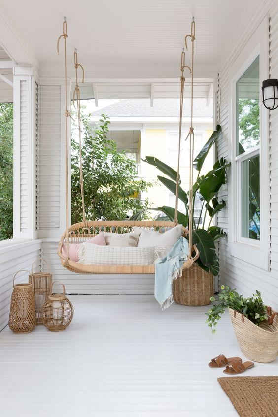 Perfect Swing In Balcony Ideas
