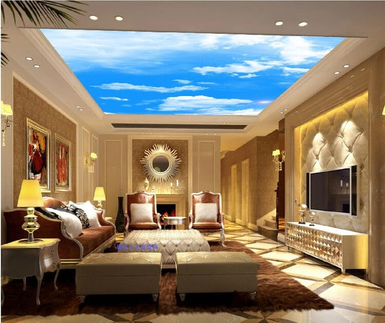 21 Royal And Modern Living Room Ceiling Design Ideas