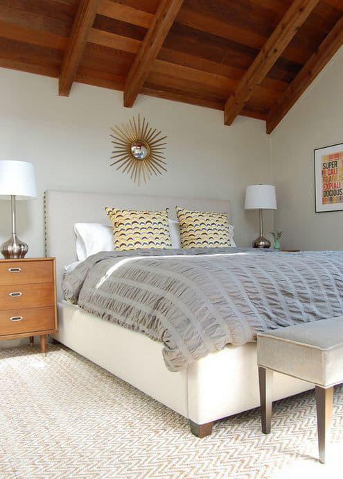 Pretty Rustic bedroom