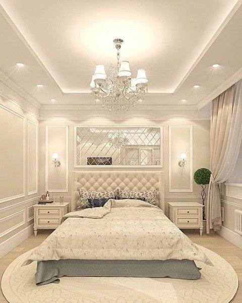 Royal ceiling design for bedroom