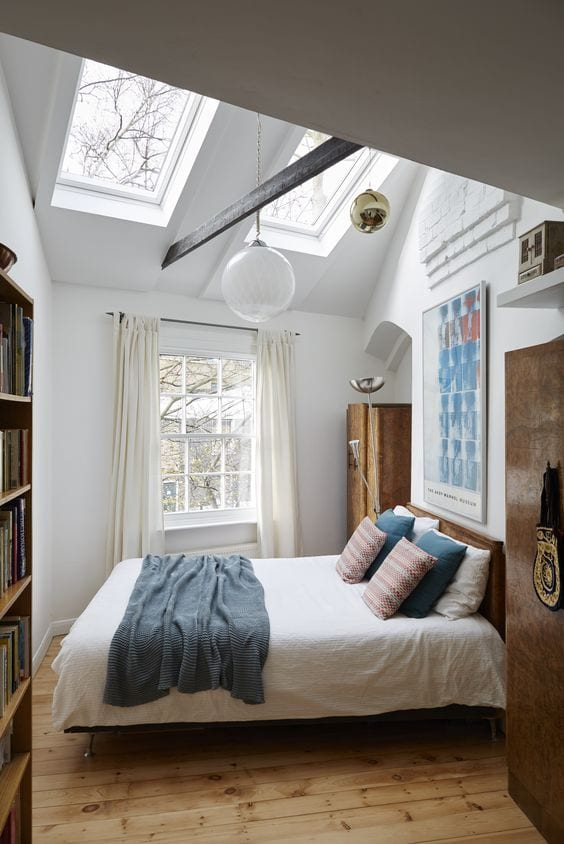 Skylights Small Bedroom Designs
