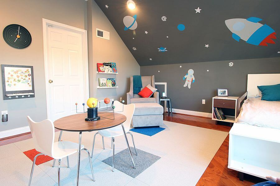 Space Themed Bedroom Ideas For Kids