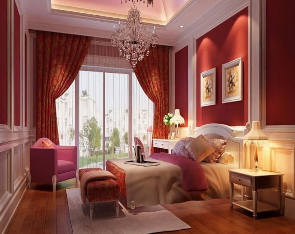 Stunning bedroom design for couples