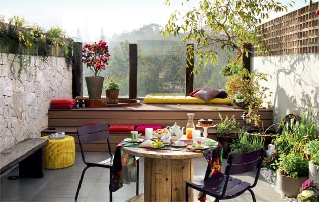 Well Managed Balcony Ideas