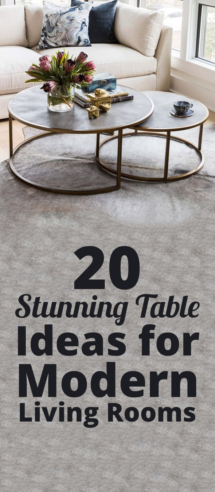 20 Stunning Centre Table Ideas