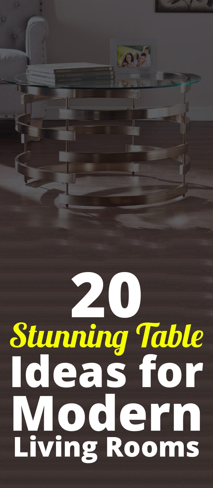 20 Stunning Centre Table Ideas for Modern Living Rooms