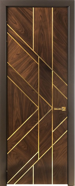 13. Perfect brass inlay main door which looks amazing in entrance foyer