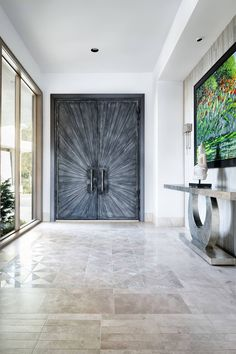 17. Dramatic entrance door ideas