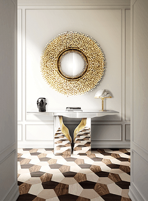 2. Stylish lapiaz console table one must check out which enlightens up your entrance foyer.