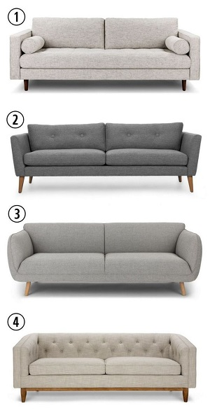 9. Different Two-seater sofa style according to your comfort you would love