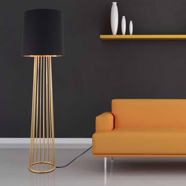 13. Floor Lamp That Will Brighten Your Dark Room.