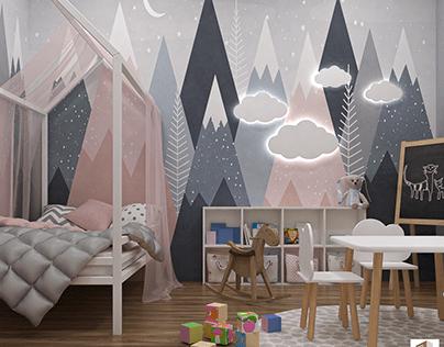 5. Cute Wallpaper For Kids Bedroom