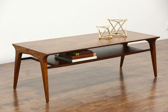 6. mid century coffee table