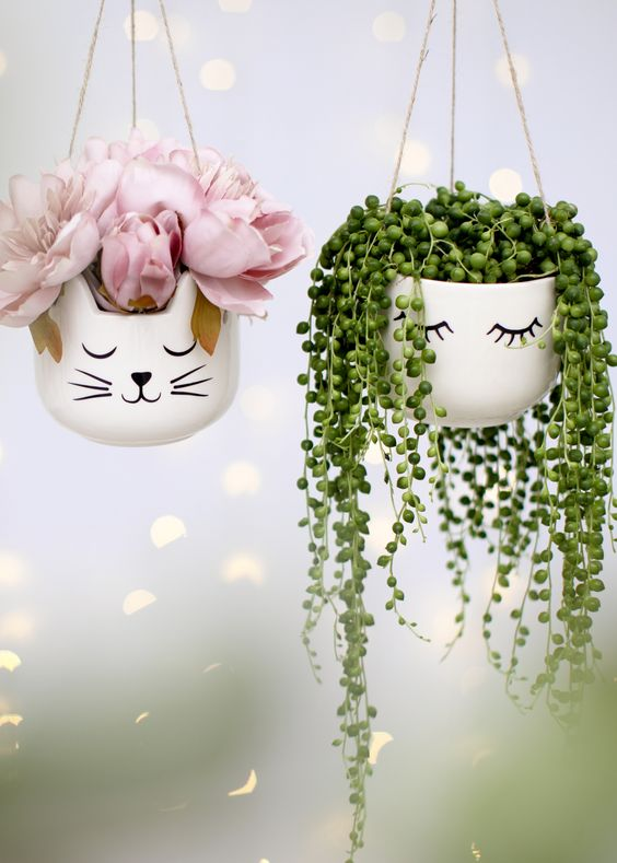 Cute Plant Holders To Enhance Your Plants Beauty