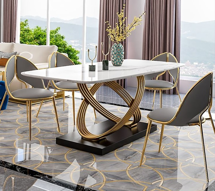 20 Luxe Dining Table Ideas for Living Rooms