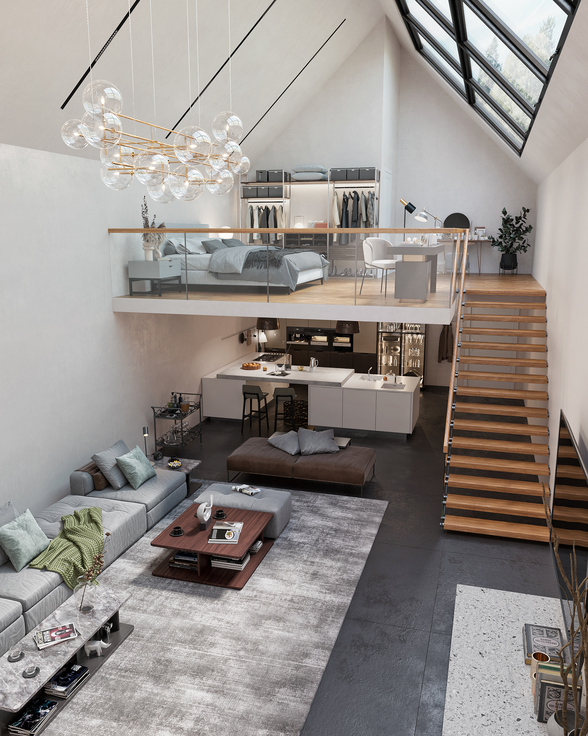 Best Way To Use Your Small Space- Loft Home Ideas