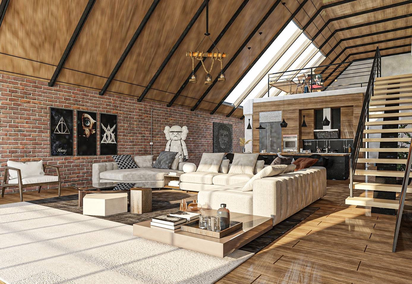 Cool And Better Use Of Space- Loft Room Ideas