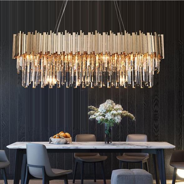 Crystal Gold Chandeliers To Brighten Up Your Space