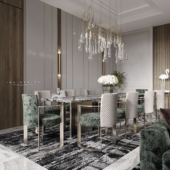 Luxe Dining Table Ideas for Living Rooms