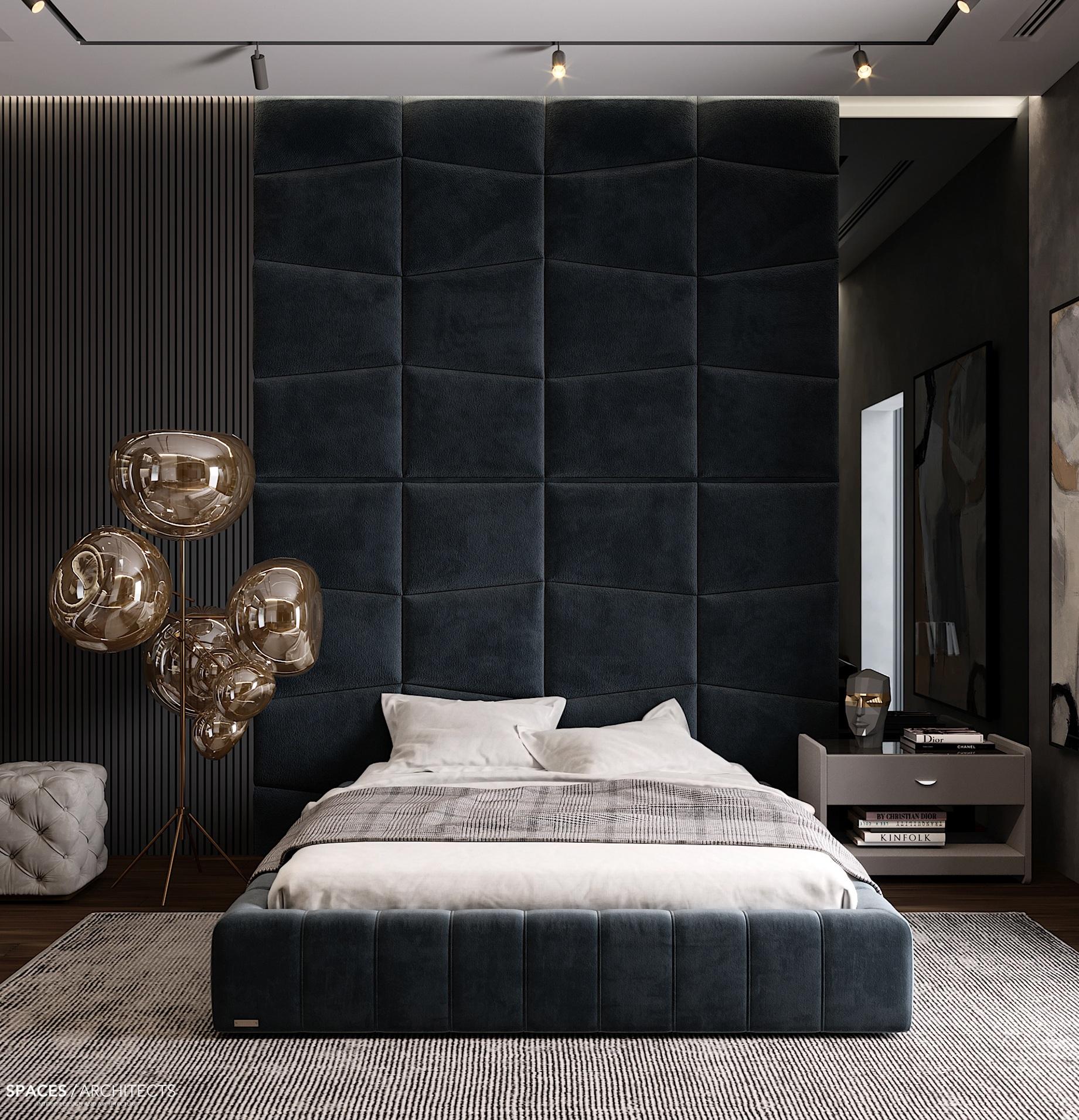 Amazing Velvety Blue Bedroom Ideas for You
